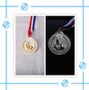 Plating football medals award /Sport medal custom medal for match and souvenir with ribbon