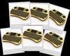 2014 Shenzhen Kayele rii mini wireless keyboard 2.4g with touchpad