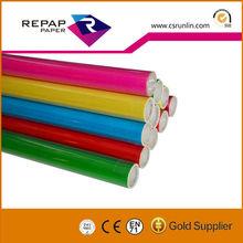 decorative vinyle film roll sticky film color transparent PVC self adhesive film
