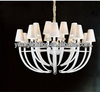 Bedroom dressing crystal purple pendant line lamp