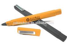 Soft Rubber Coated Square Shape Ballpoint Pen