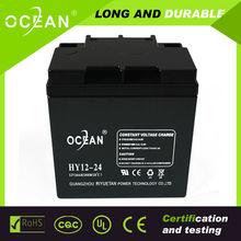 High quality vrla 12v 7Ah lead acid solar battery for ups back up power system NP7-12 solar battery