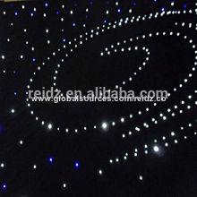 make star cloth/led curtain light/stage cloth star light