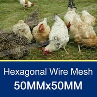 1.8M /50MMx50MM Chicken Coop Galvanized Wire Mesh