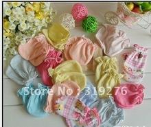 JPGloves010 new born baby gloves cotton gloves anti- catch