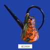 Special Design with Two Orange Cats Ceramic Garden Watering Can