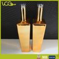 De oro 750ml/de metal electrolíticos de vidrio botella personalizada