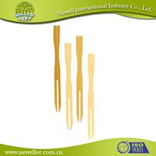 2014 venta caliente decorado de bambú anudadas a alimentos bamboo selecciones con hermoso impresión de la insignia