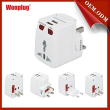 au uk eu us plug travel adapter all in one electric wall charger dock station socket