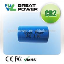 Hotsale cr2 battery set by CE,ROHS,SGS certification