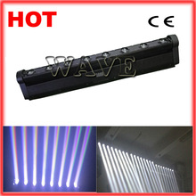 WLED 1-4 New 8 pcs 4 IN 1 RGBW (WHITE) 10W cree LED linear pixel rgbw moving led bar 8 10w wave