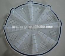 Microwave silicone potato chip maker