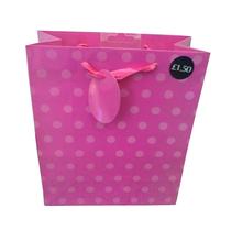 pink ploka dot paper luminaire candle bags