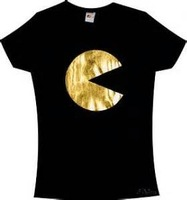 t shirts with gold foil printing