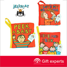 peek baby fabric soft book