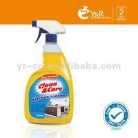 Customized Kitchen Cleaning Liquid 750ml, Kitchen Sprayer Cleanser