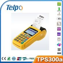 with free SDK TPS300a handheld Linux bank pos terminal psam card authentication