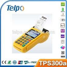 China TPS300a handheld pos nfc reader/msr/thermal printer