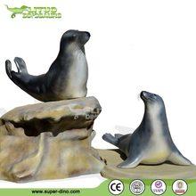 Park Decoration Fiberglas Lifelike Animal Statues