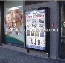 Customized wall mounted advertising display light box