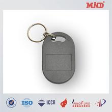 MDT0009 China factory customized ABS 125KHZ /13.56MHZ keyfobs /keychain /keytag
