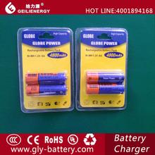 Globe Brand AA NI-MH4800mAh Rechargeable Battery1.2v Wholesale
