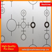 thick plastic sheet pvc rigid film 0.5mm thick office adhesive