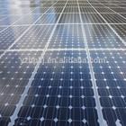 Mono crystalline silicon solar cell for solar street light application solar panel