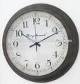 bywc020 horloge murale en métal