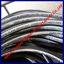 Rubber tubing of single layer braid hydraulic hose EN 853 1SN