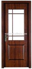 antique wooden doors with glass