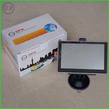 "Car gps navigation 5"" tft navigator with FM,MP3,MP4,AV-in,bluetooth free map"