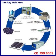Keyland Solar Panel Assembling Line Training Installation