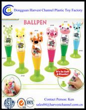 Fashionable 3D liquid Ballpoint Pens / ballpen / floating plastic pen