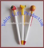 2014 Fashion Design High Quality Fruit Cartoon Ballpoint Pens