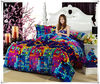 color checks printing flannel bedding set for winter