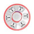 Zócalo de la extensión de salida, manera 6 toma de extensión eléctrica, adaptador de color
