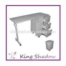 2014 High quality salon equipment nail tables for sale salon furniture nail technician tables Unique Design Nail Table/Manicur