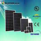 Hot sale Bluesun brand cheap price solar pv module 100wp