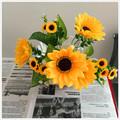 plantas artificiais flores artificiais girassóis