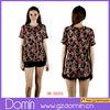 2014 Latest Fashion Floral Print Blouse Clothes for Women