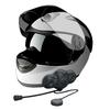 IPX6-rated stereo music motorcycle helmet bluetooth headset intercom