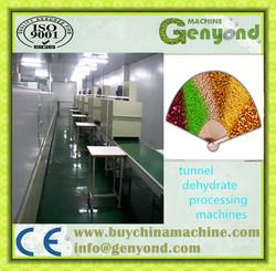 Full automatic microwave tunnel lotus dehydrator