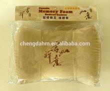 bamboo magnet pillow Automatic inflatable pillow/ bone shape neck pillow/ travel pillow