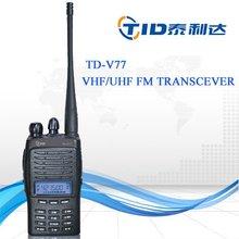 TD-V77 scramble fuction VOX radio walkie talkie with bright flashlight illumination