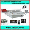 Indask digital de inyección de tinta de impresión uv de la máquina f2030 para la tela de malla/la película del pvc/tela de vidrio/blockout/lona de la impresora