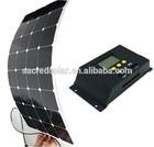 135W solar panel Black Flexible Backsheet