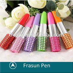 Amazing Lip Stick Crystal Stone Multiple Color Mini Diamond Pen