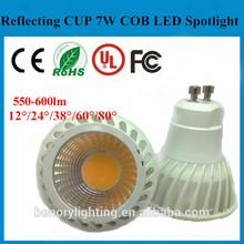 CE ROHS TUV 7W GU10 Led bulb/Light LED/Led Spot light Daylight/Warm white 2700K 3000K.
