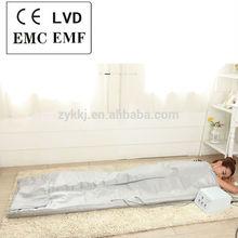 3 zone electric deep cleaning Sauna detox korean soft PU blanket
